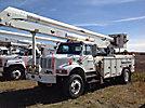 Altec AN755-P, Bucket Truck rear mounted on 2001 International 4800 4x4 Utility Truck