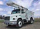 Altec AO300, Bucket Truck, rear mounted on, 2002 Freightliner FL70 Utility Truck