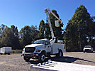 Altec AO300-P, Bucket Truck, center mounted on, 2000 Ford F650 Utility Truck