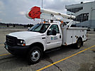 Altec AO300-P, Bucket Truck, center mounted on, 2004 Ford F550 Service Truck