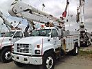 Altec AO442-MH, Material Handling Bucket Truck, center mounted on, 2000 GMC C7500 Utility Truck