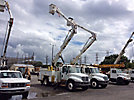 Altec AO442-MH, Material Handling Bucket Truck rear mounted on 2002 International 4300 Utility Truck