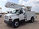 Altec AO442-MH, Over-Center Material Handling Bucket Truck, rear mounted on, 2006 Chevrolet C7500 Utility Truck