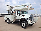 Altec AO442-MH, Over-Center Material Handling Bucket Truck, rear mounted on, 2008 International 7300 4x4 Utility Truck