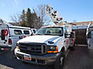 Altec AT200, Telescopic Non-Insulated Bucket Truck, mounted behind cab on, 2000 Ford F450 Service Truck