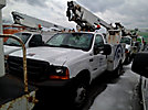 Altec AT200, Telescopic Non-Insulated Bucket Truck, mounted behind cab on, 2000 Ford F550 Service Truck