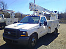 Altec AT200, Telescopic Non-Insulated Bucket Truck, mounted behind cab on, 2005 Ford F350 Service Truck