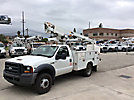 Altec AT200, Telescopic Non-Insulated Bucket Truck, mounted behind cab on, 2006 Ford F450 Service Truck