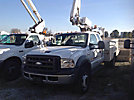 Altec AT200, Telescopic Non-Insulated Bucket Truck mounted behind cab on 2005 Ford F450 4x4 Extended-Cab Utility Truck