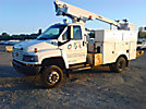 Altec AT200-A, Articulating & Telescopic Non-Insulated Bucket Truck, mounted behind cab on, 2005 Chevrolet C4500 4x4 Service Truck