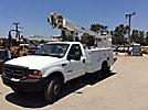 Altec AT200-A, Telescopic Non-Insulated Bucket Truck, mounted behind cab on, 1999 Ford F550 Service Truck