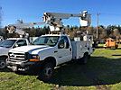 Altec AT200-A, Telescopic Non-Insulated Bucket Truck, mounted behind cab on, 2000 Ford F450 Service Truck