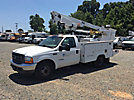Altec AT200-A, Telescopic Non-Insulated Bucket Truck, mounted behind cab on, 2001 Ford F350 Service Truck