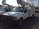 Altec AT200-A, Telescopic Non-Insulated Bucket Truck, mounted behind cab on, 2003 Ford F350 Service Truck