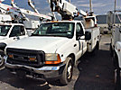 Altec AT200-A, Telescopic Non-Insulated Bucket Truck mounted behind cab on 2001 Ford F350 Service Truck