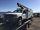 Altec AT200-A, Telescopic Non-Insulated Bucket Truck mounted behind cab on 2002 Ford F450 Service Truck