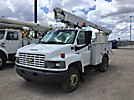 Altec AT200-A, Telescopic Non-Insulated Bucket Truck mounted behind cab on 2003 Chevrolet C4500 Utility Truck