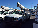 Altec AT200-A, Telescopic Non-Insulated Bucket Truck mounted behind cab on 2004 Ford F450 Service Truck