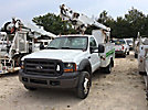 Altec AT200-A, Telescopic Non-Insulated Bucket Truck mounted behind cab on 2005 Ford F450 Service Truck