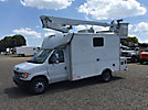 Altec AT200-A, Telescopic Non-Insulated Bucket Van, mounted behind cab on, 2002 Ford E450 Fiber Optic Splicing Van
