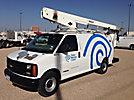 Altec AT200-AV, Telescopic Non-Insulated Bucket Van, mounted on, 2000 Chevrolet G3500 Cargo Van