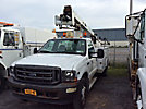Altec AT235, Articulating & Telescopic Non-Insulated Bucket Truck, mounted behind cab on, 2002 Ford F550 Service Truck
