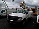 Altec AT235, Articulating & Telescopic Non-Insulated Bucket Truck, mounted behind cab on, 2003 Ford F550 Service Truck