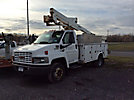 Altec AT235, Articulating & Telescopic Non-Insulated Bucket Truck, mounted behind cab on, 2003 GMC C3500 Service Truck