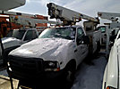 Altec AT235, Articulating & Telescopic Non-Insulated Bucket Truck, mounted behind cab on, 2004 Ford F350 Service Truck