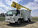 Altec AT235, Articulating & Telescopic Non-Insulated Bucket Truck, mounted behind cab on, 2006 Chevrolet C5500 Utility Truck