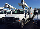 Altec AT235, Articulating & Telescopic Non-Insulated Bucket Truck mounted behind cab on 2002 Ford F550 Service Truck
