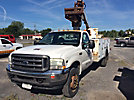 Altec AT235, Articulating & Telescopic Non-Insulated Bucket Truck mounted behind cab on 2004 Ford F450 4x4 Service Truck