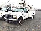 Altec AT235, Articulating & Telescopic Non-Insulated Bucket Truck mounted behind cab on 2004 Ford F450 Service Truck