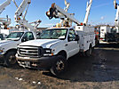 Altec AT235, Articulating & Telescopic Non-Insulated Bucket Truck mounted behind cab on 2004 Ford F550 Service Truck