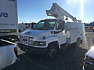 Altec AT235, Articulating & Telescopic Non-Insulated Bucket Truck mounted behind cab on 2004 GMC C5500 Service Truck