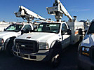 Altec AT235, Articulating & Telescopic Non-Insulated Bucket Truck mounted behind cab on 2005 Ford F550 Service Truck