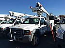 Altec AT235, Articulating & Telescopic Non-Insulated Bucket Truck mounted behind cab on 2006 Ford F450 Service Truck