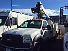 Altec AT235, Articulating & Telescopic Non-Insulated Bucket Truck mounted behind cab on 2007 Ford F450 Service Truck