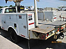 Altec AT235, Articulating & Telescopic Non-Insulated Bucket Truck mounted behind cab on 2009 Ford F450 Service Truck