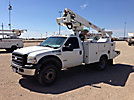 Altec AT235, Telescopic Non-Insulated Bucket Truck, mounted behind cab on, 2006 Ford F450 Service Truck