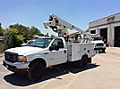 Altec AT235-P, Articulating & Telescopic Non-Insulated Bucket Truck, mounted behind cab on, 2001 Ford F550 Service Truck