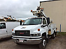 Altec AT235-P, Articulating & Telescopic Non-Insulated Bucket Truck mounted behind cab on 2009 GMC C5500 Service Truck