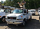 Altec AT235P, Articulating & Telescopic Non-Insulated Bucket Truck mounted behind cab on 2007 GMC C5500 Service Truck