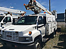 Altec AT237, Articulating & Telescopic Non-Insulated Bucket Truck mounted behind cab on 2005 GMC C5500 Service Truck