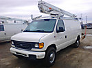 Altec AT250-G, Telescopic Insulated Bucket Van, mounted on, 2006 Ford E350 Cargo Van