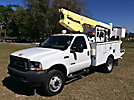 Altec AT30G, Telescopic Insulated Bucket Truck, mounted behind cab on, 2003 Ford F550 4x4 Service Truck