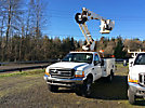 Altec AT35G, Articulating & Telescopic Bucket Truck, mounted behind cab on, 2000 Ford F550 Service Truck