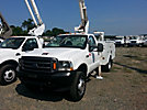 Altec AT35G, Articulating & Telescopic Bucket Truck, mounted behind cab on, 2002 Ford F550 4x4 Service Truck