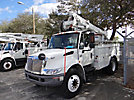 Altec AT35G, Articulating & Telescopic Bucket Truck, mounted behind cab on, 2005 International 4200 Utility Truck