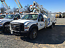 Altec AT35G, Articulating & Telescopic Bucket Truck mounted behind cab on 2009 Ford F550 4x4 Service Truck